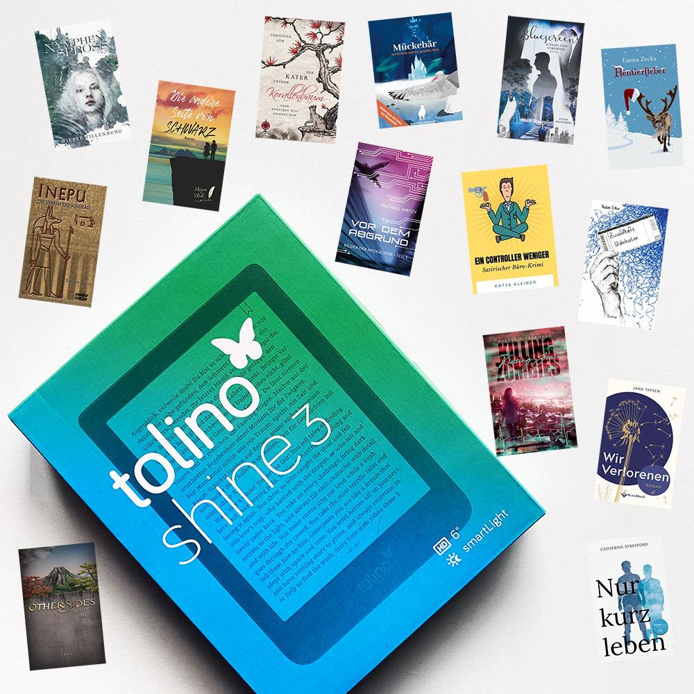tolino shine 3 mit E-Books von Indie-Büchern